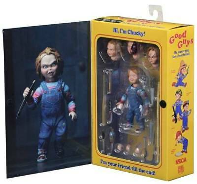 """6""""  NECA Chucky Ultimate Good Guy Doll Child's Play Action Figure 1:12 Scale NIB"""