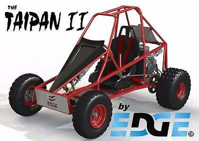 Taipan II, offroad, mini dune buggy, sandrail, go kart plans on CD disc