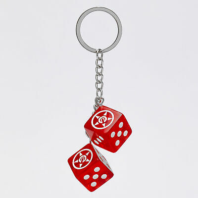 City Beach Unit Dice Keyring