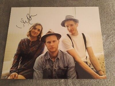 The Lumineers Signed - Wesley Schultz & Neyla Pekarek - COA Included