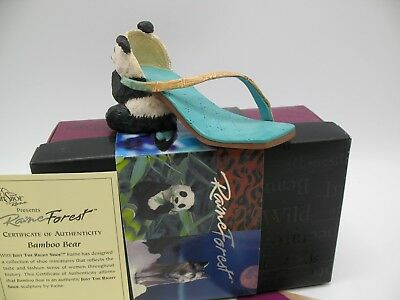 Just The Right Shoe JTRS by Raine Willittis Designs BAMBOO BEAR 25121