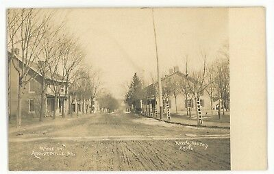 RPPC Main Street ARENDTSVILLE PA Adams County Kuhn Real Photo Postcard