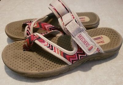 50367a6278d SKECHERS OUTDOOR LIFESTYLE sandals size 7 womens pink chevron ...
