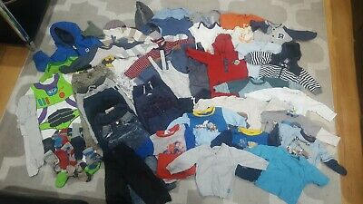 Baby boys bundle of clothes Ages 6-18 months  *67 items*