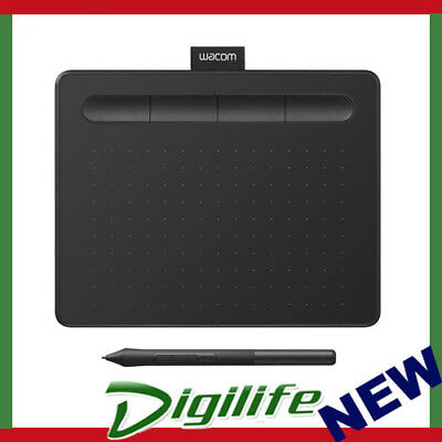 WACOM INTUOS SMALL Creative Pen Tablet Black Ctl-4100/K0-C