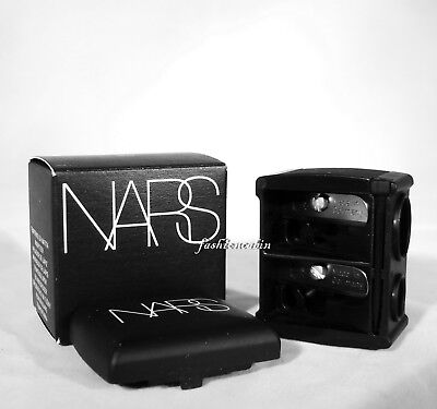 New in Box NARS Dual Blade Pencil Sharpener, Eye & Lip, Blade made in Germany