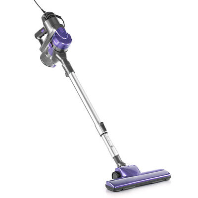 Cordless Handheld Bagless Vacuum Cleaner - Purple and Silver