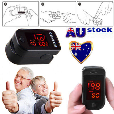 OLED Finger Pulse Oximeter Blood Oxygen SpO2 Saturation Heart Rate Monitor