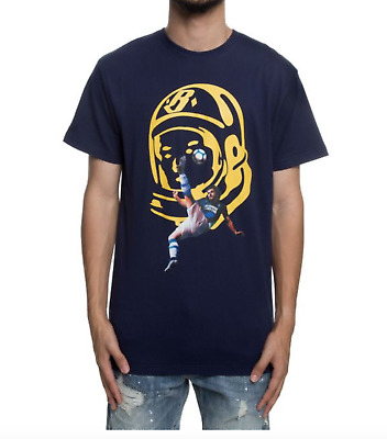 Billionaire Boys Club BB Bicycle Kick Tee in Peacoat Size M-XL NWT MSRP  54 92aa634185d4
