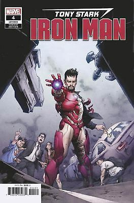 Tony Stark Iron Man #4 (Cover C Variant)