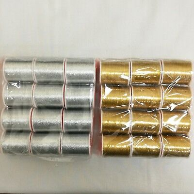 Metallic Thread Silver and Gold Colour