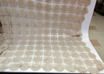 3 Crocheted Table Cloths or Bed Covers