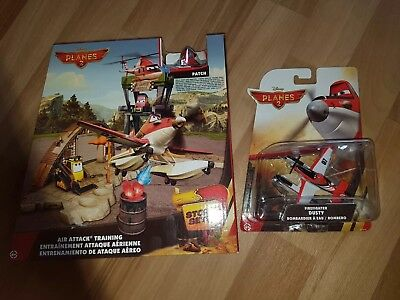 Disney Cars Planes Air Attack Storyset + Dusty Firefighter Neu in OVP