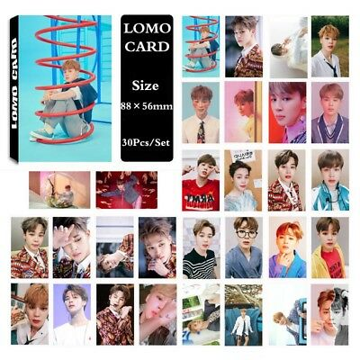 30Pcs/set KPOP Bangtan Boys JIMIN Album LOVE YOURSELF Answer PhotoCard
