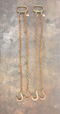 Lot of 2 Chain Slings