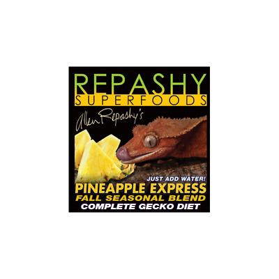 NEW! Repashy - Pineapple Express Gecko Diet. Crested Gecko Food 3oz/84g