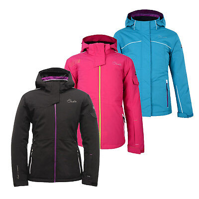 D2B Girls Kids Childrens Ski Snow Waterproof Insulated Winter Jacket