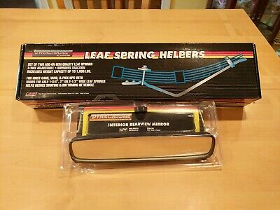 Brand new 1000lb Leaf Spring Helpers/ Free gift interior rear view mirror. WOW