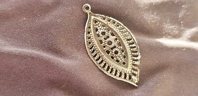 VR Exquisitely beautiful Byzantine silver pendant. Please read description. L38z
