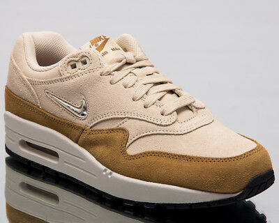 NIKE AIR MAX 1 Premium SC Jewel Summit White Gold Light Bone