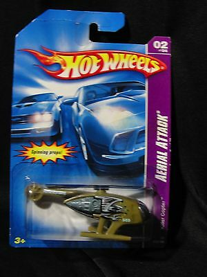 Hot Wheels Killer Copter Aerial Attack 2/4 2007 #74 Helicopter