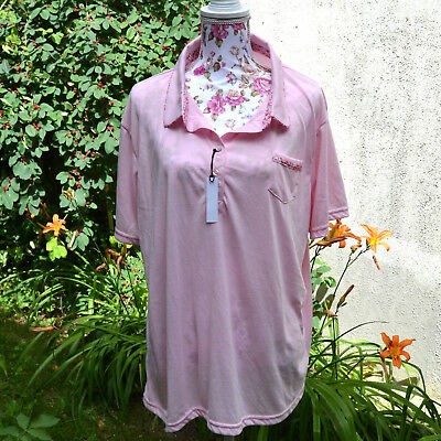 Top tunique polo Femme grande taille 2XL soit 52 54 liberti  ZAZA2CATS new