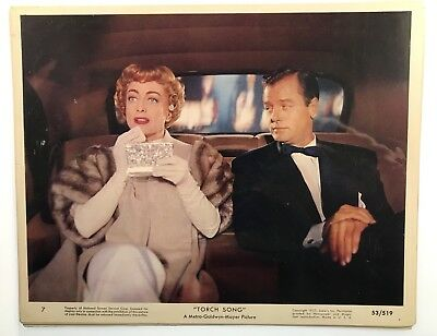 Joan Crawford Torch Song - Lot of 12 original lobby cards & photograph 1953