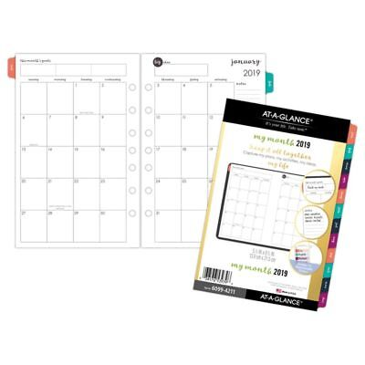 """AT-A-GLANCE® Harmony Monthly Planner Refill, 5 1/2"""" x 8 1/2"""", January to"""