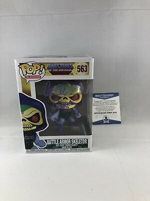 Alan Oppenheimer Signed Masters Of The Universe Skeletor Funko Pop Bas Beckett