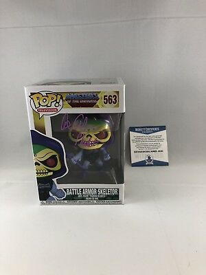 Alan Oppenheimer Signed Masters Of The Universe Skeletor Funko Pop Bas Beckett 2