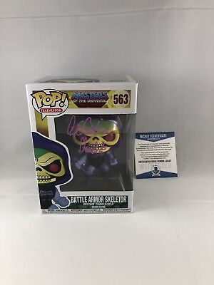 Alan Oppenheimer Signed Masters Of The Universe Skeletor Funko Pop Bas Beckett 3