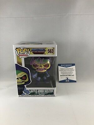Alan Oppenheimer Signed Masters Of The Universe Skeletor Funko Pop Bas Beckett 6