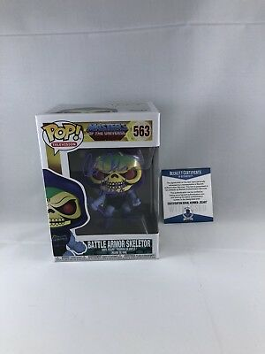 Alan Oppenheimer Signed Masters Of The Universe Skeletor Funko Pop Bas Beckett 7