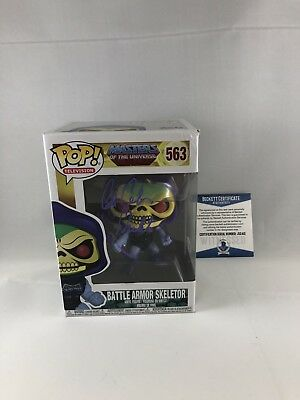 Alan Oppenheimer Signed Masters Of The Universe Skeletor Funko Pop Bas Beckett 8
