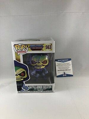 Alan Oppenheimer Signed Masters Of The Universe Skeletor Funko Pop Bas Beckett 9