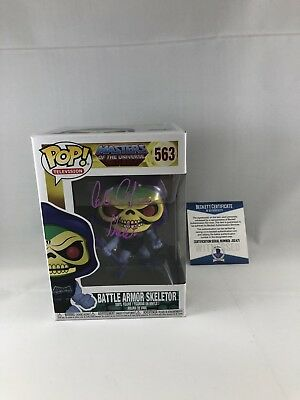 Alan Oppenheimer Signed Masters Of The Universe Skeletor Funko Pop Beckett 14