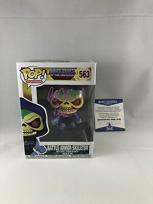 Alan Oppenheimer Signed Masters Of The Universe Skeletor Funko Pop Beckett 15