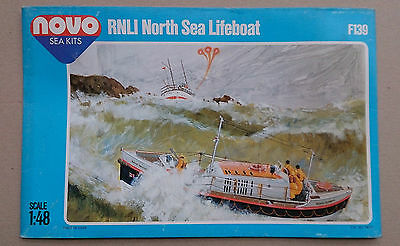 1:48 NOVO box ONLY! F139 RNLI North Sea Lifeboat. WITHOUT model! OHNE Modell!