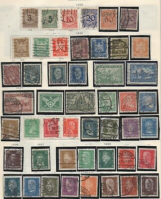 Germany 1923-1928 Weimar Republic Hyperinflation Etc Issues Lot 4