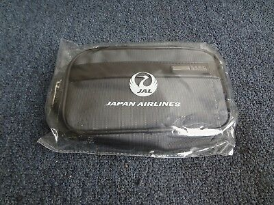 New and Sealed JAL Japan Airline Zero Halliburton business class amenity bag