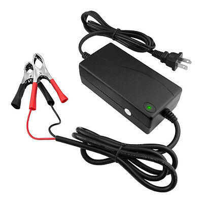 12V 3ah Auto Battery Charger Maintainer Trickle Marine Boat RV Car Motorcycle
