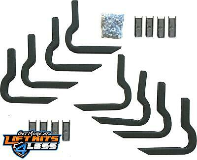 Rampage 14420 Side Bar Mounting Brackets for 2011-17 Ford F-150 F-250 Super Duty
