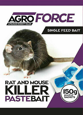 Rat Mouse Poison Bait Lethal Brodifacoum maximum strength killer strongest baIt