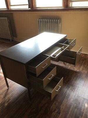 Wood/Metal Office Desk