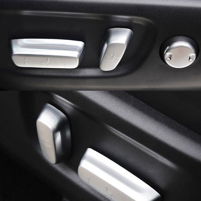 For 2015 Toyota Highlander Chrome Seat Adjustment Knob Button Switch Cover Trim