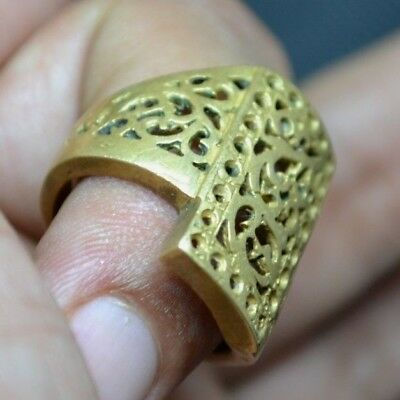 Ancient VIKING BRONZE Ring museum quality artifact VERY Stunning