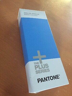 Pantone Plus Color Bridge Guides Coated & Uncoated  **Unused**