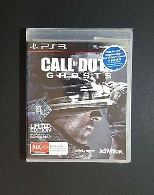 Call Of Duty Ghosts Limited Edition *New / Sealed - Sony PlayStation 3 PS3 Game