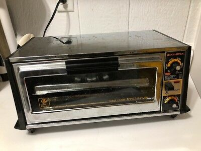 Vintage General Electric GE Deluxe Toast R Oven Toaster Chrome T94