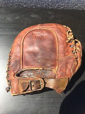 "Old Antique Vintage Wilson 1920's ""Wilson Western"" DEL Stamped Signed USA MADE"